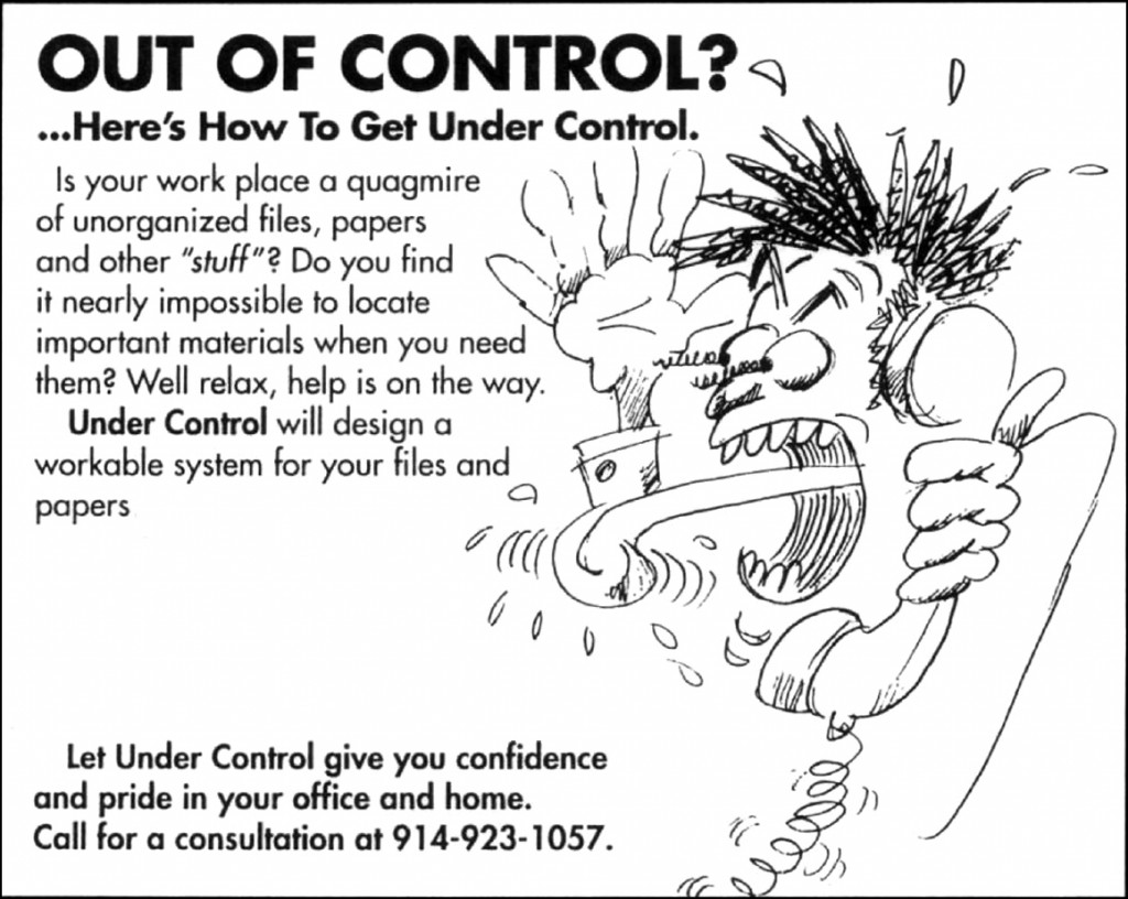 Out of Control? Here's How To Get Under Control.